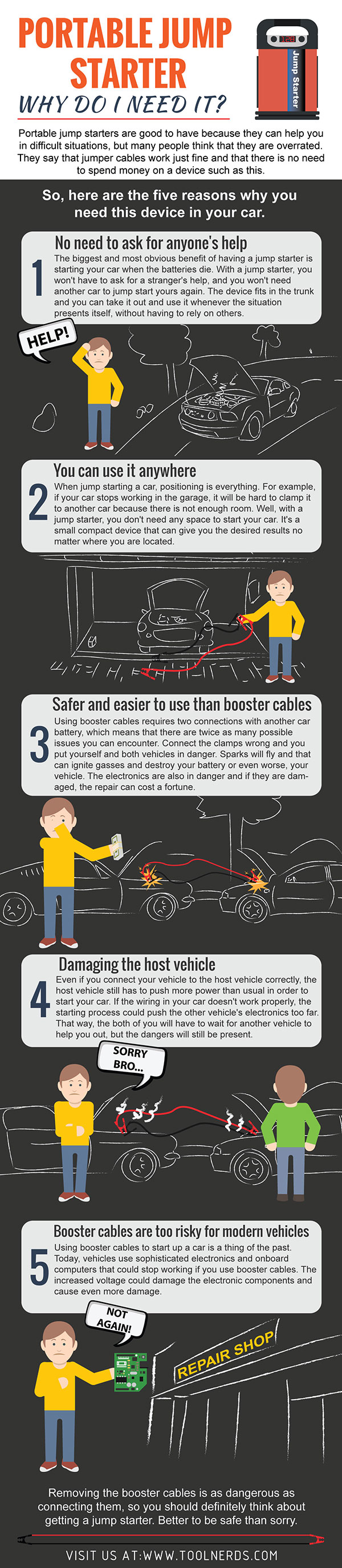 Portable Jump Starter – Why Do I Need It?