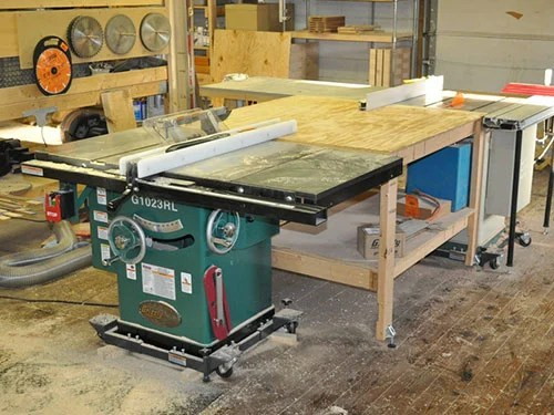 Cabinet Type of Saws