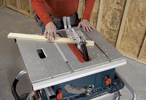 cutting wood bosch 4100-09