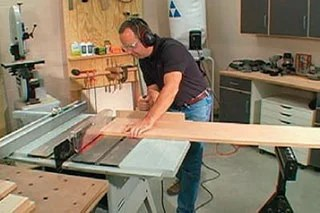 Wood Sawing Safety