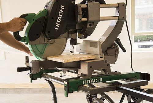 Working on a Hitachi C12RSH2