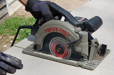 Concrete With a Circular Saw
