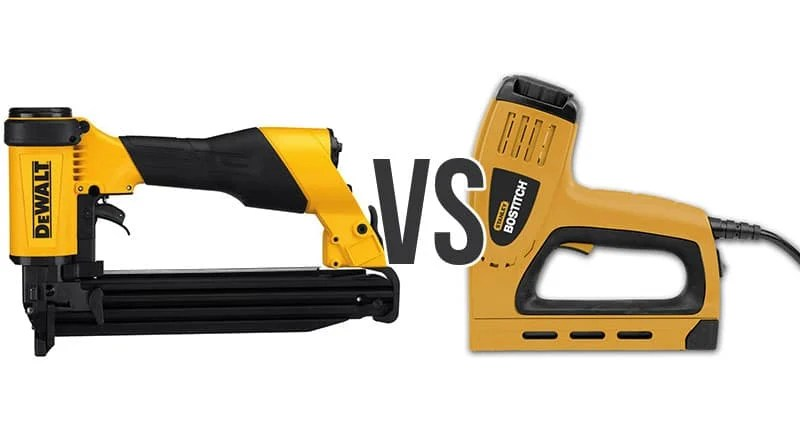 Electric vs Pneumatic Staple Gun