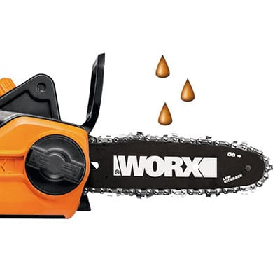 Worx WG309 Oil