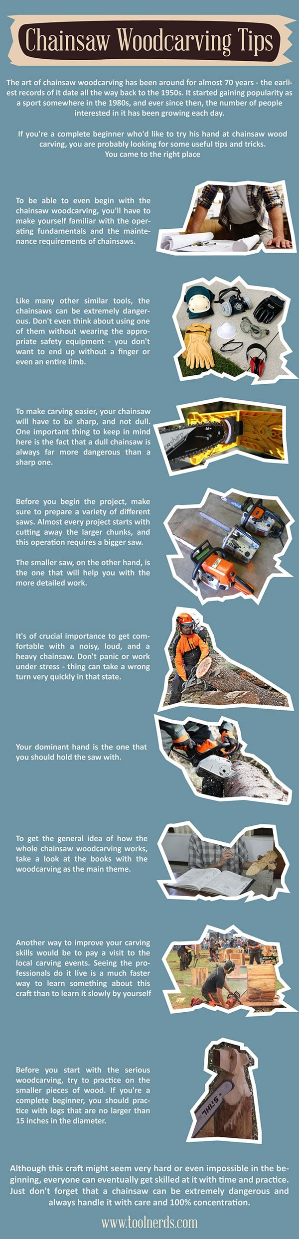 Chainsaw Woodcarving Tips