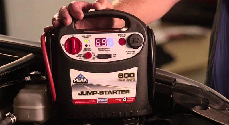 Charging a Battery Jump Starter
