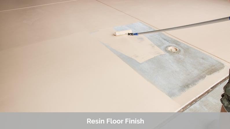 Resin Floor Finish