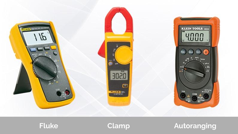 Three Types of Digital Multimeters
