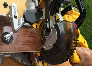 How to Unlock a Miter Saw?