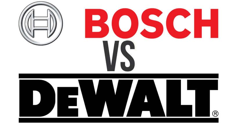 dewalt vs bosch