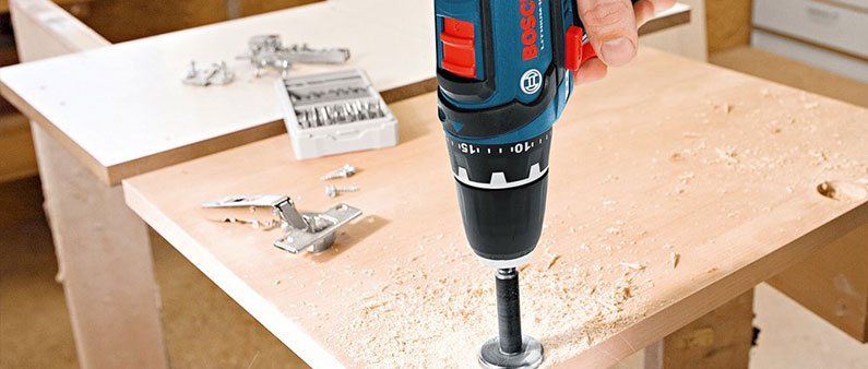 Drilling Hole With Bosch PS31-2A