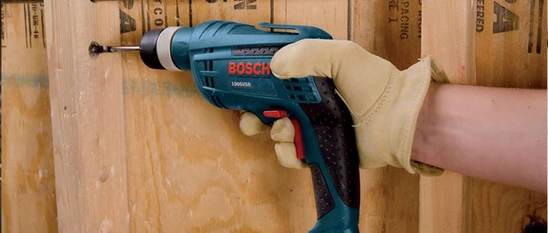 Drilling Wood With Bosch 1006VSR
