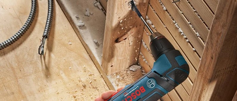 Drilling Wood with Bosch ADS181