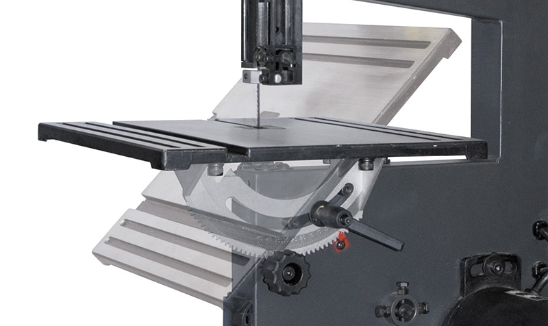 POWERTEC BS900 tilting worktable up to 45 degrees