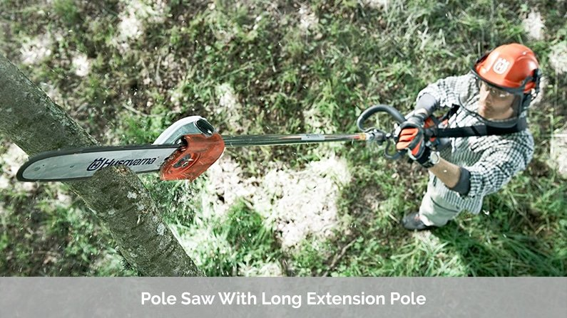 Pole Saw With Long Extension Pole