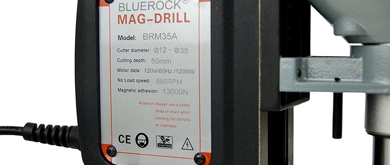 BLACK BLUEROCK Drill Specification