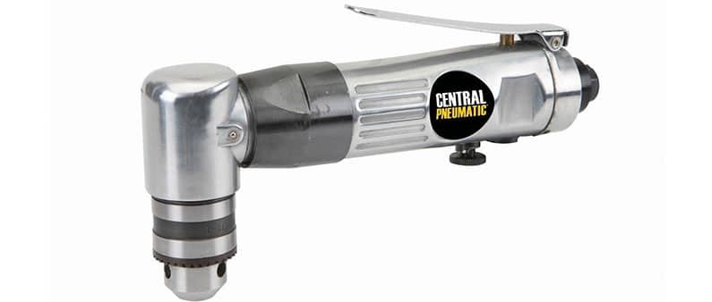 Central Pneumatic Right Angle Drill