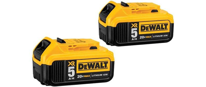 DeWalt DCD985B Batteries