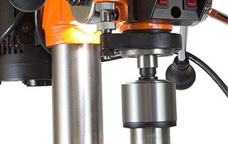 Drill Press With LED Light