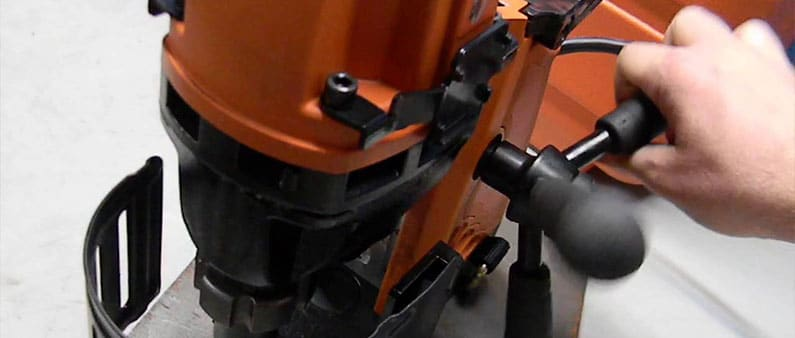 Drilling with Jancy Mag Drill