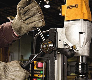 Ergonomic Drill Press Handle