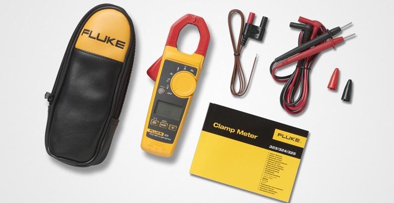 Fluke 325-Meets IEC safety standard 61010