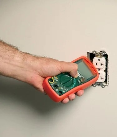 Checking Power Plug with Multimeter