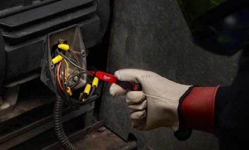 receptacle testing