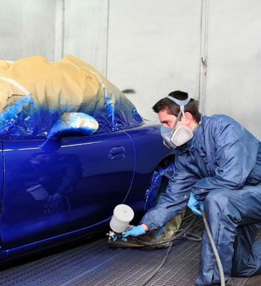 How to Paint a Car Using a LVLP Spray Gun