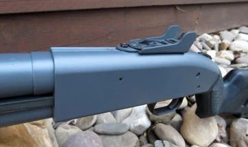 gun painted with duracoat