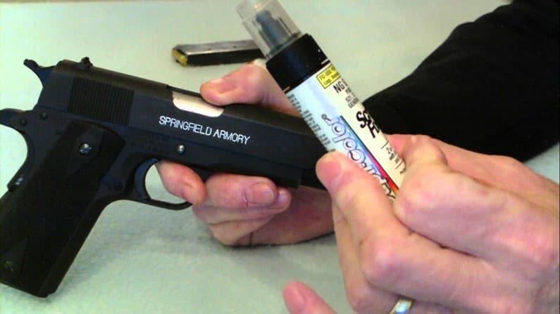 using gun pen