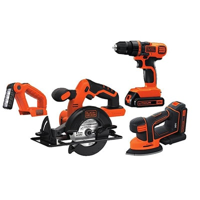 Black And Decker BD4KITCDCMSL Product Image