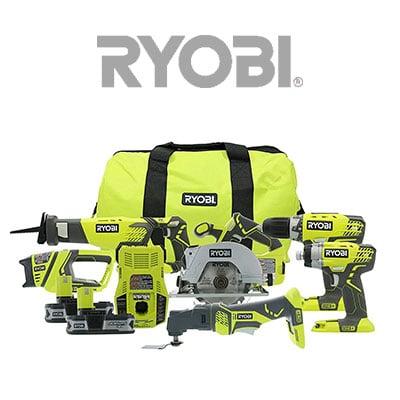 Power Tool Combo Kit By Ryobi