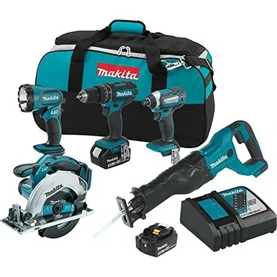 Makita XT505 Tool Set Product Image