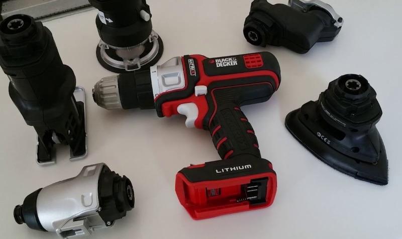 Black & Decker BDCDMT1206KITC Tools