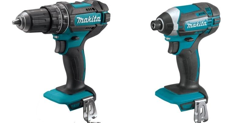 Makita Hammer Drill and an Impact Driver