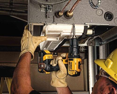 Using Dewalt 20v Drill DCD780