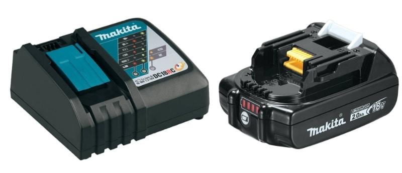 Makita XT269R Tool Set Batteries