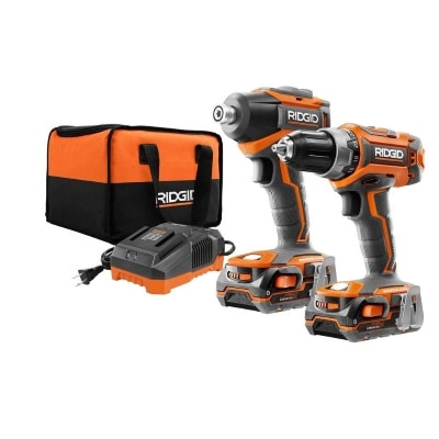 18Volt Gen5X Lithium-Ion Cordless Brushless Hammer Drill and Impact Driver Combo Kit Product Image