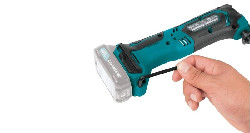 Makita MT01Z in a hand