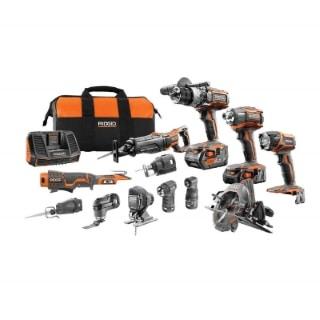 Ridgid  12 piece combo kit tools