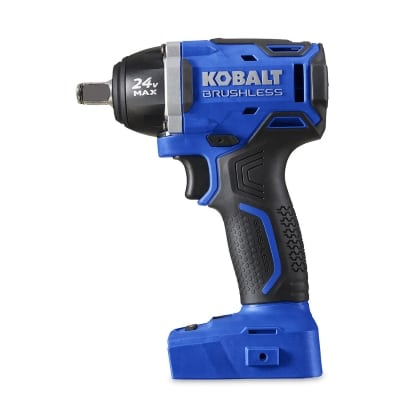 Kobalt 24-volt Max 12-in Drive Brushless Cordless Impact Wrench Product Image