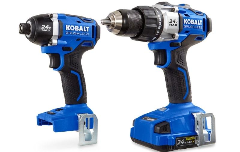 Kobalt 24V MAX Brushless 2 Tool Combo Kit Drill/Impact Driver