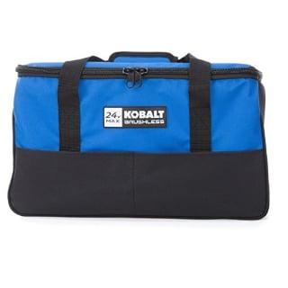 Kobalt 4-Tool Brushless Cordless Combo Kit Tool Bag