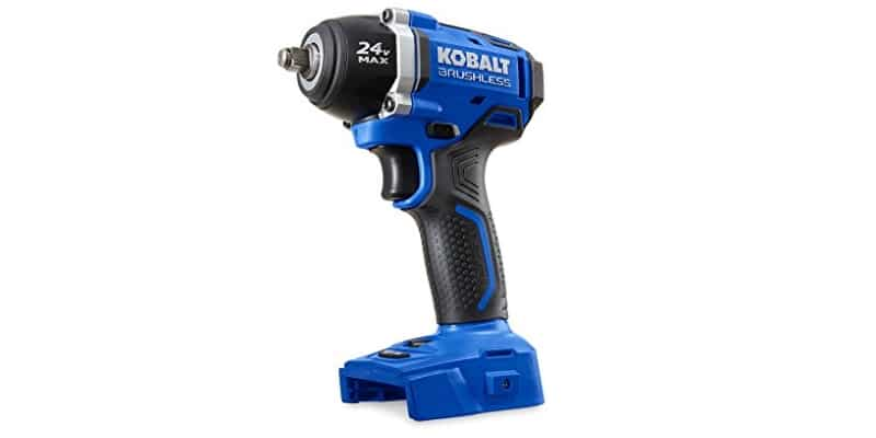 Kobalt Brushless Cordless Impact Wrench side view