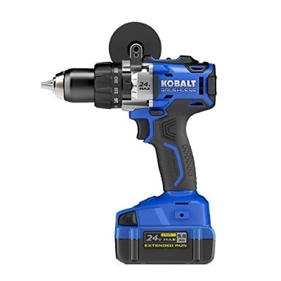 Kobalt Lithium Ion Variable Speed Brushless Cordless Hammer Drill Product Image