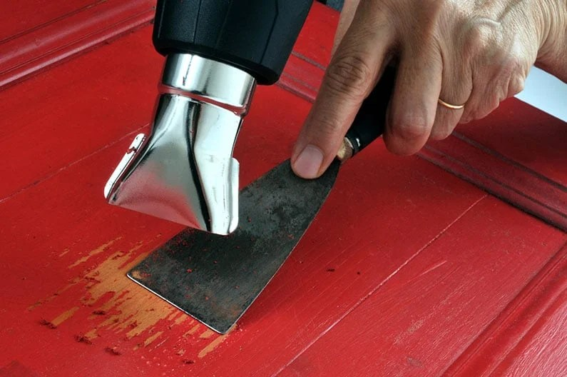 How to Use a Heat Gun to Remove Paint