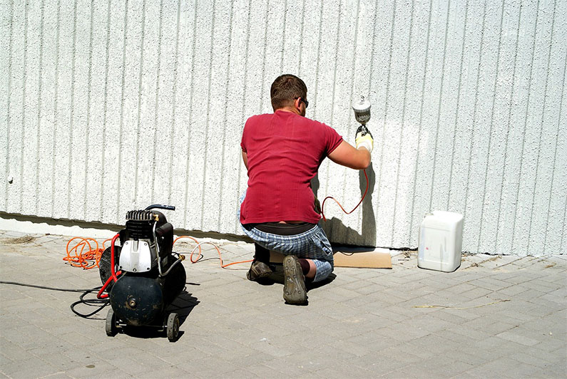 Paint thin for sprayer