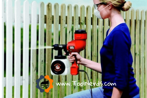 How to paint a fence with a paint sprayer