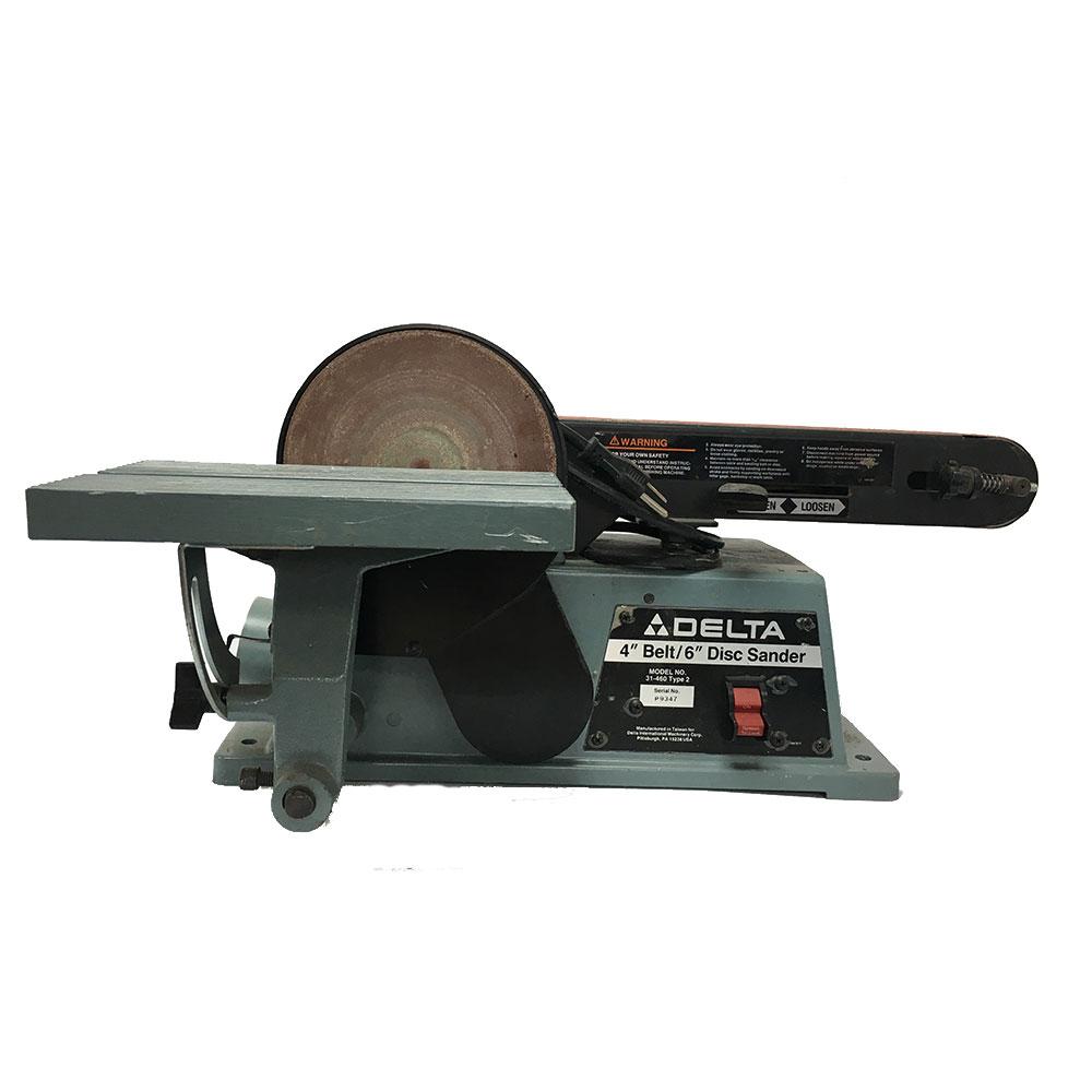 4 Belt 6 Disc Sander